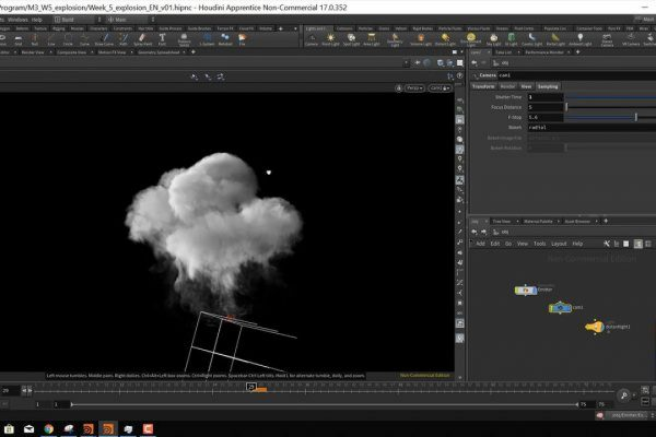 Houdini – A 3D Animation And VFX Package